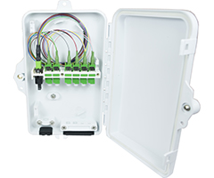 compact series Fiber Optic Wallmount Wall Mount Enclosure Patch Splice Panel