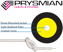Prysmian AllterraLink MDU Tight Buffered Cable for MDU Applications