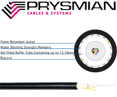 Prysmian CampusLink Indoor Outdoor Central Loose Tube Cable