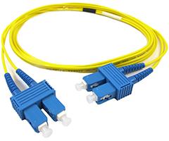 SC UPC Singlemode Fiber Jumpers