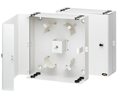 SPLWM Series Fiber Optic Wallmount Wall Mount Enclosure Splice Panel