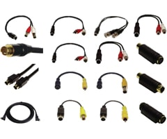 S-Video Cables and Adapters
