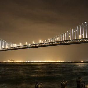 The Bay Lights Project Bridge Fiber Optic